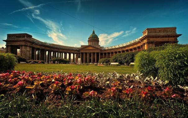 Фото обои Питер, Санкт-Петербург, Казанский собор, Russia, спб, St. Petersburg, spb