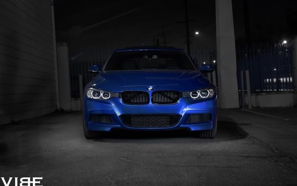 Фото обои BMW, оптика, перед, 335i, F30, Avant, Garde