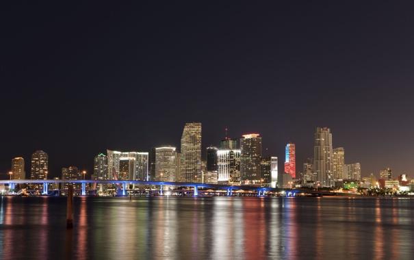 Фото обои city, город, Флорида, USA, США, Miami, Florida