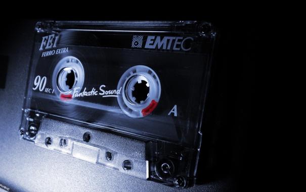 Фото обои музыка, кассета, analog music
