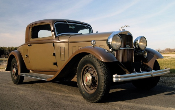 Фото обои Lincoln, Coupe, 1932