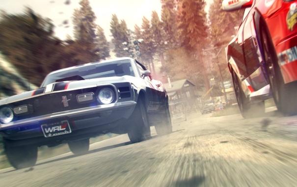 Фото обои дорога, гонка, скорость, GRID 2, машыны