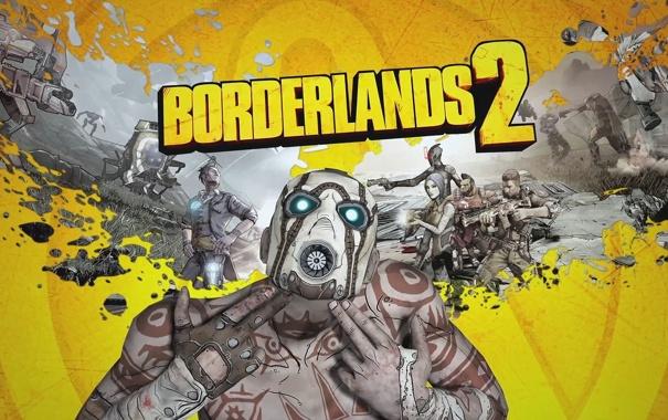 Фото обои игра, 2K Games, Borderlands 2, Gearbox Software