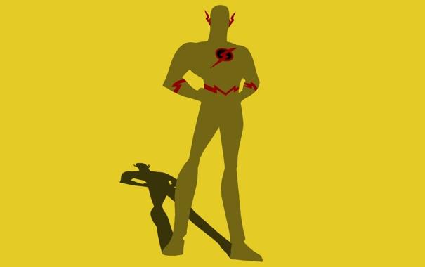 Фото обои Флэш, супер герой, DC Comics, Flash