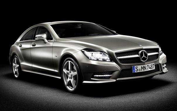Фото обои Mercedes-Benz, CLS, 2010, 350