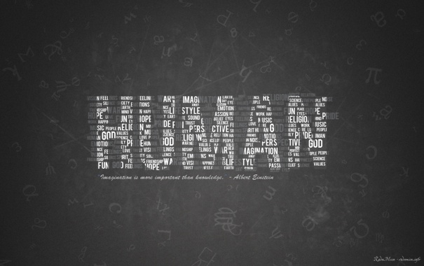 Фото обои white, typography, black, human