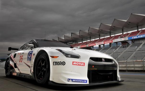 Фото обои GTR, Nissan, R35