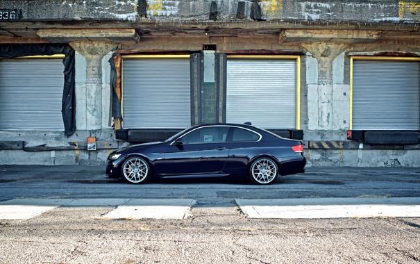 Фото обои car, бмв, купе, сбоку, bmw 3, autowallpapers, склады