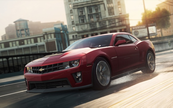 Фото обои игра, NFS, 2012, Chevrolet Camaro ZL1, Need for speed, Most wanted