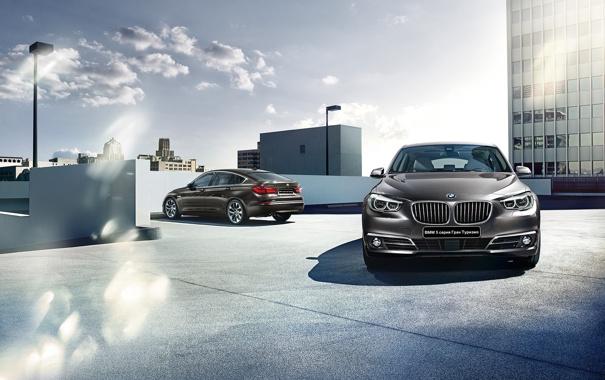 Фото обои бмв, BMW, 5 series, гран туризмо, Gran Turismo, 2015, F07