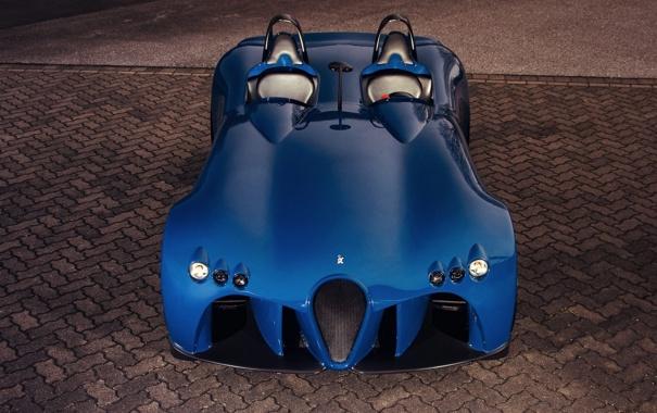 Фото обои car, машина, Concept, Wiesmann, Spyder, передок