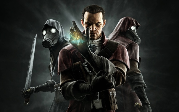 Фото обои assassins, dlc, dishonored, knife of dunwall