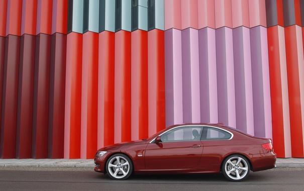Фото обои BMW, 335i, vinous
