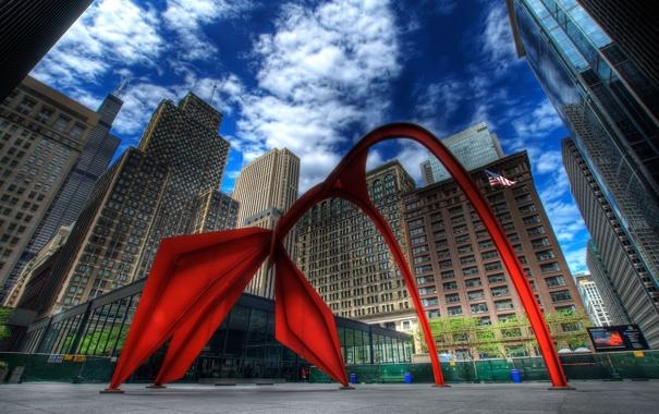 Фото обои здания, Чикаго, Chicago
