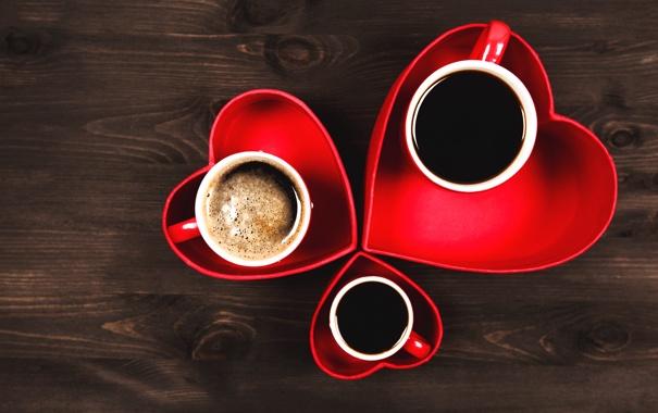 Фото обои любовь, сердце, кофе, love, cup, romantic, sweet