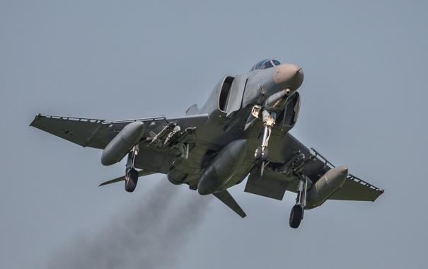 Фото обои истребитель, многоцелевой, Phantom II, McDonnell Douglas, F-4E, «Фантом» II