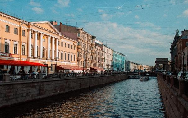 Фото обои река, канал, Russia, набережная, питер, санкт-петербург, St. Petersburg