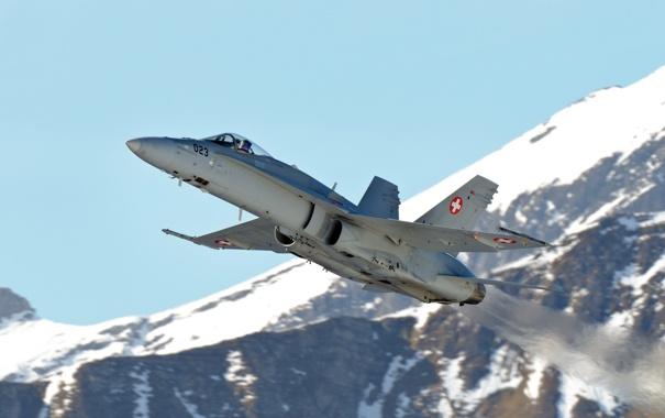 Фото обои оружие, самолёт, FA-18C Hornet