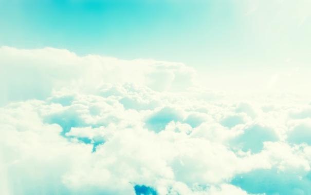 Фото обои 2560x1600, пейзаж, nature, sky, небо, облака, light