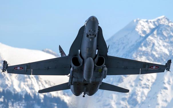 Фото обои оружие, самолёт, FA-18E