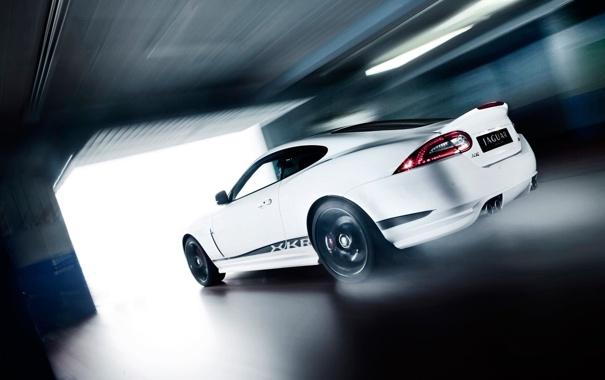 Фото обои скорость, гараж, xkr