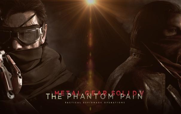 Фото обои John, Jack, Naked Snake, Big Boss, Metal Gear Solid V: The Phantom Pain, Ocelot, Punished ...
