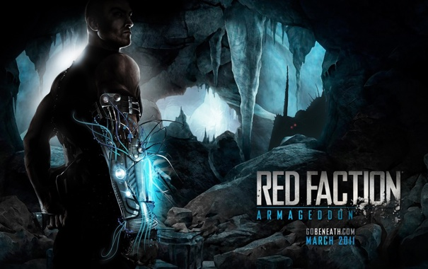 Фото обои game, new, Red faction, armagedon