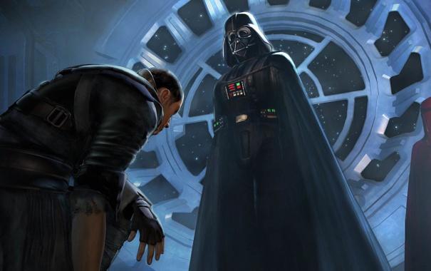Фото обои star wars, Darth Vader, The Force Unleashed, starkiller