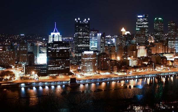 Фото обои city, город, USA, Pennsylvania, Pittsburgh