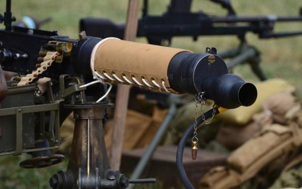 Фото обои оружие, пулемёт, станковый, Vickers, «Виккерс»