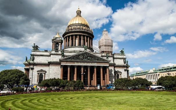 Фото обои Санкт-Петербург, Исаакиевский собор, Russia, питер, St. Petersburg