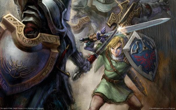 Фото обои эльф, меч, бой, sword, щит, game wallpapers, elf