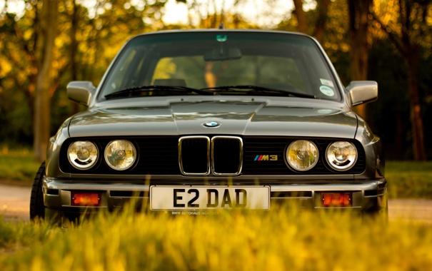 Фото обои машина, фон, BMW