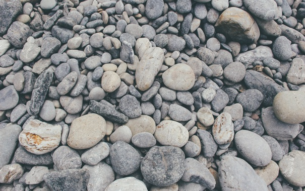 Фото обои камни, галька, много
