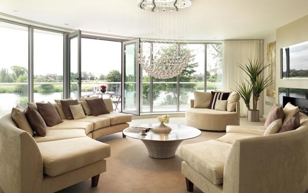 Фото обои дизайн, жилое пространство, вилла, дом, интерьер, стиль