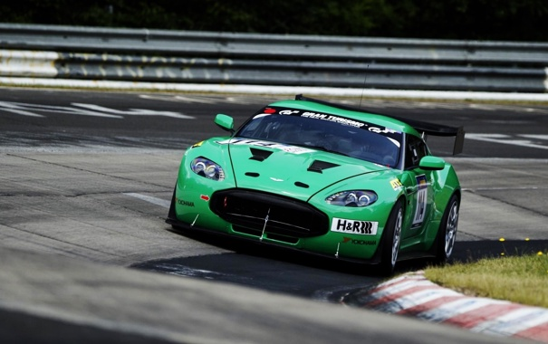 Фото обои Aston Martin, Фото, Авто, Скорость, Гонка, Движение, Трасса