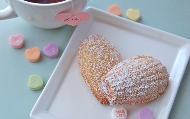 Фото обои любовь, чай, сердце, печенье, сладости, love, выпечка