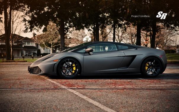 Фото обои Lamborghini, профиль, Gallardo, 2012, SR Auto Group, Limitless