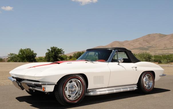 Фото обои Corvette, 1967, Convertible, 427 L71