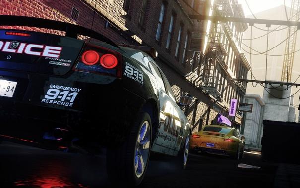 Фото обои car, 911, need for speed, cars, nfs, dodge, police