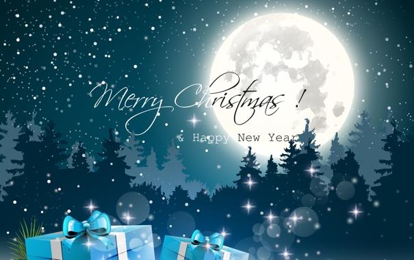 Фото обои снег, искусство, art, snow, happy new year, merry christmas, christmas tree