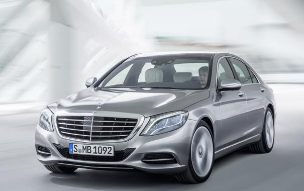 Фото обои Mercedes-Benz, mercedes, мерседес, Hybrid, передок, front, S 400