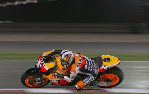 Фото обои Фото, Скорость, Гонка, Honda, MotoGP, Team, Dani