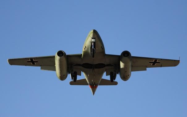 Фото обои истребитель, войны, бомбардировщик, реактивный, мировой, Второй, времён