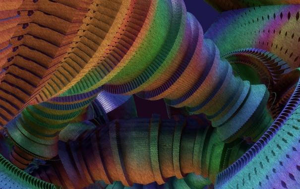 Фото обои абстракция, цвет, форма