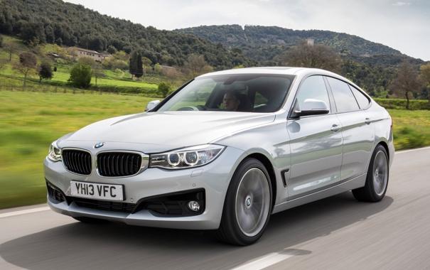 Фото обои BMW, серебристый, авто, бмв, 318d, Gran Turismo, Sport Line