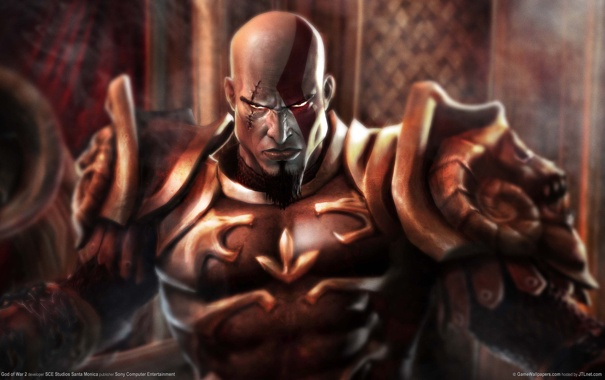 Фото обои Доспехи, кратос, god of war2