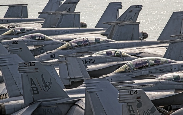 Фото обои авиация, истребители, Hornet, FA-18