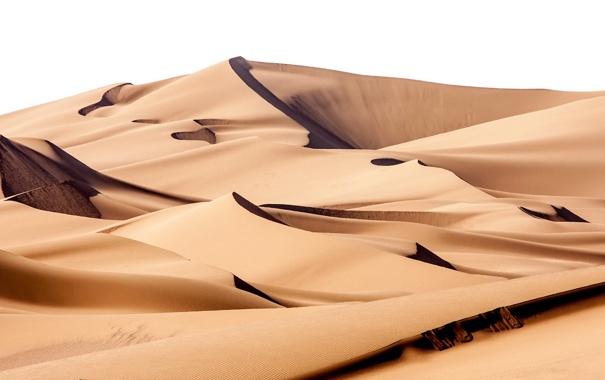 Фото обои песок, пейзаж, пустыня
