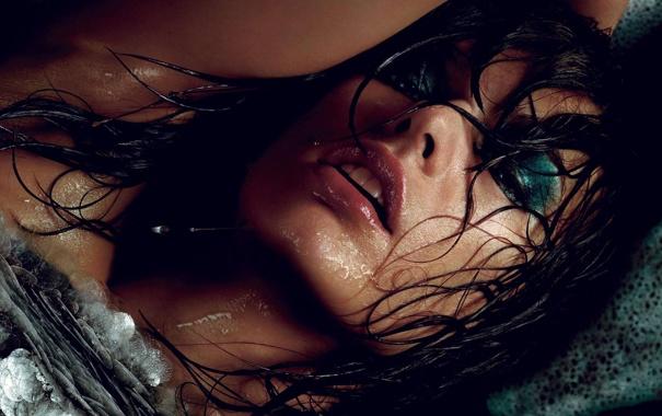Фото обои модель, Девушка, Milla Jovovich, Мила Евович